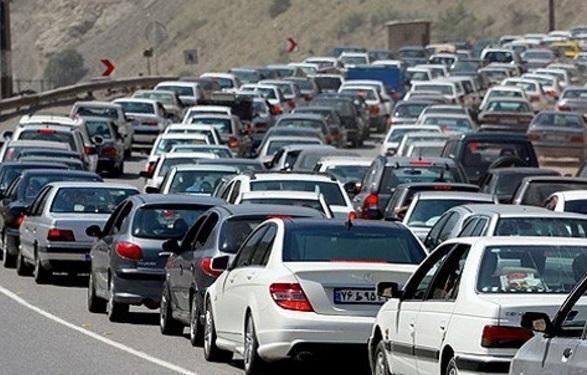 ترافیک نیمه سنگین در محور هراز، حضور گردشگران در آبعلی علت اصلی ترافیک