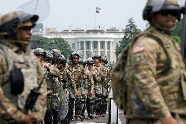 5 هزار نیروی گارد ملی در واشنگتن می مانند، احتمال حمله به کنگره