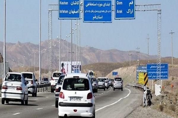 ترافیک روان در جاده ها ، ممنوعیت سفر به 40 شهر قرمز و نارنجی کرونایی