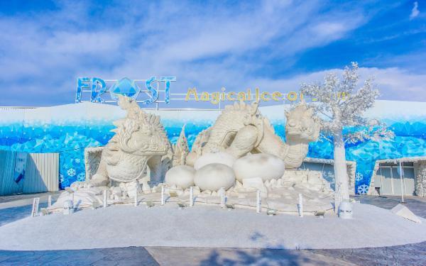 پارک یخ جادویی سیام؛ جاذبه برفی و شگفت انگیز تایلند ، عکس