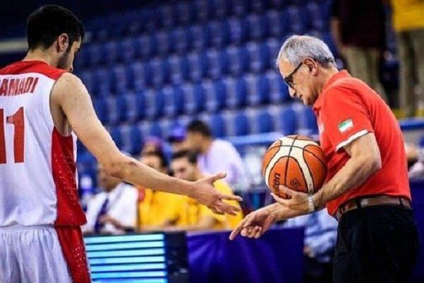 سرمربی تیم بسکتبال جوانان: می خواهیم جزو هشت تیم برتر دنیا شویم