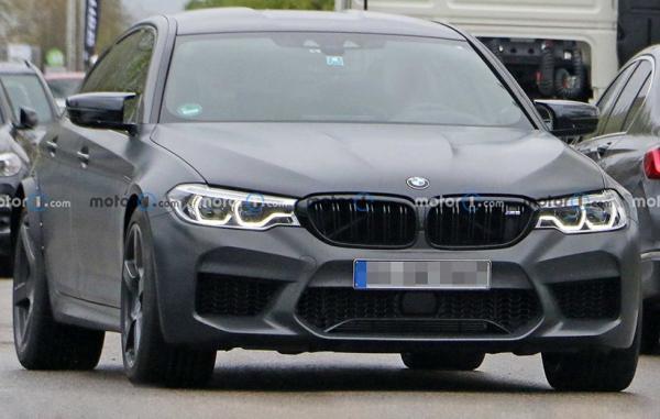 مدل جدید BMW M5 با چهره ای متفاوت در عکس های لو رفته دیده شد