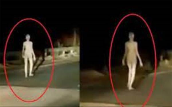 موجود بیگانه انسان نما در هند دیده شد