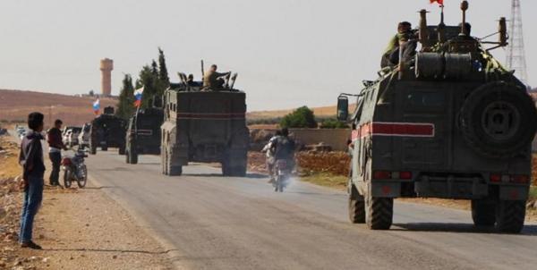 انفجار در راستا گشتی روسیه در شمال سوریه