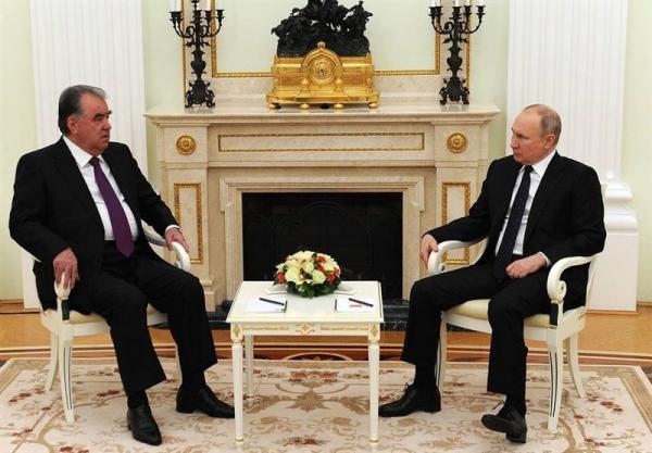 تأکید پوتین بر آمادگی روسیه برای حمایت کامل از تاجیکستان