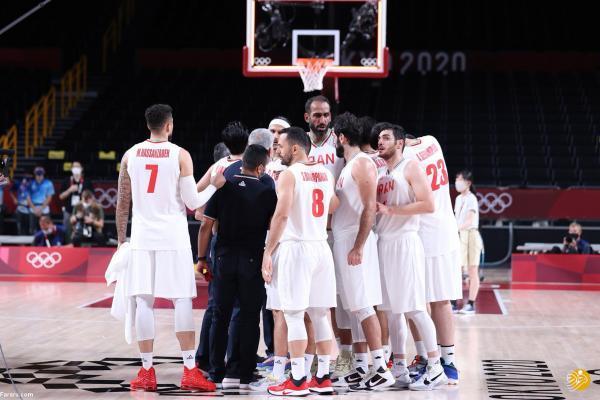 برنامه بازی های تیم ملی بسکتبال ایران در المپیک توکیو