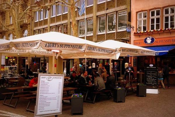 10 رستوران شگفت انگیز در فرانکفورت آلمان، تصاویر