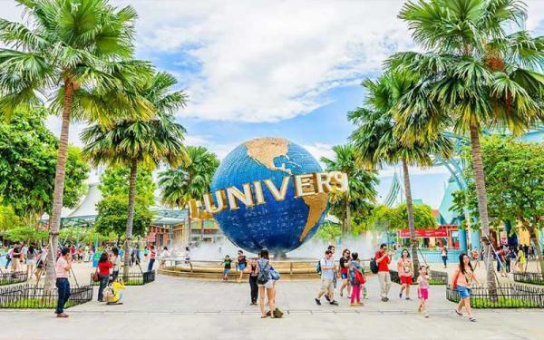 یونیورسال استودیو سنگاپور برترین مرکز تفریحی سنگاپور