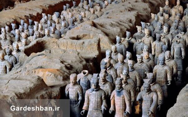 ردپای هنر یونانی در ارتش مشهور چین