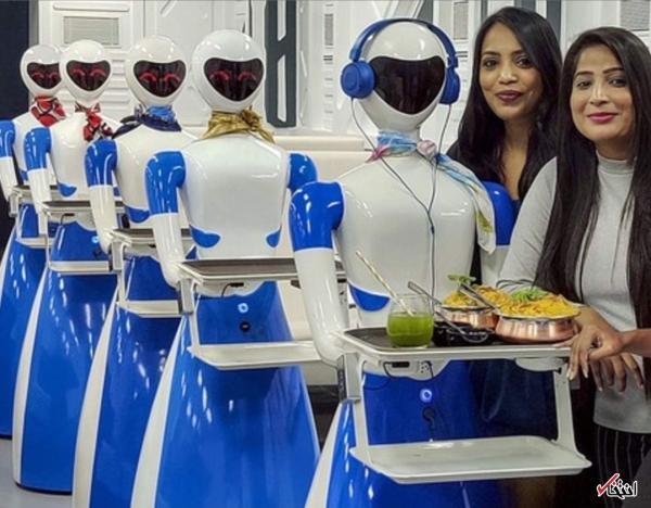 حضور پررنگ ربات ها در رستوران های هند