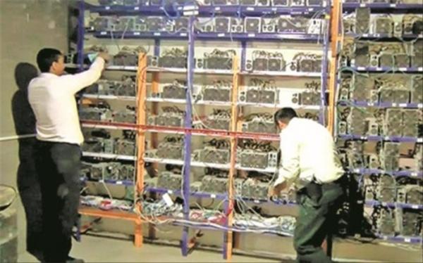 کشف 1147 دستگاه استخراج غیرمجاز رمز ارز در هفته گذشته