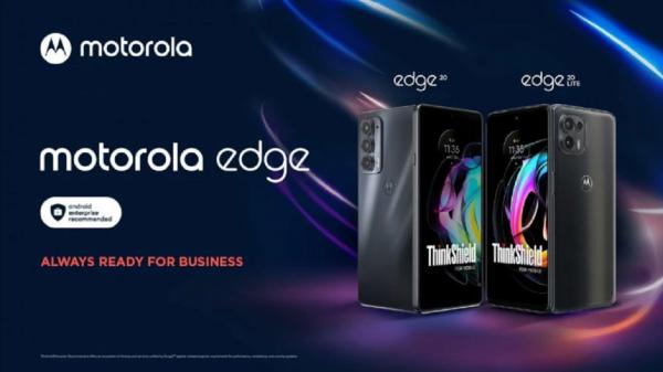 اضافه شدن 2 گوشی هوشمند با امنیت بالا به سری Edge موتورولا